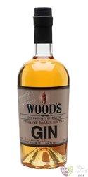 Woods treeline barrel rested American gin 45% vol.  0.70 l