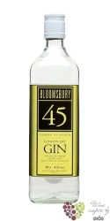 "Bloomsbury "" Lemon flavour "" English London dry gin 45% vol.   0.70 l"