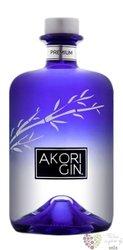 "Akori "" premium "" Spanish dry gin 42% vol.   0.70 l"