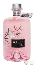 "Akori "" Cherry "" Spanish flavored gin 40% vol.  0.70 l"