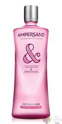 "Ampersand "" Strawberry flavour "" Spanish London dry gin by Osborne 37.5% vol.  0.70 l"