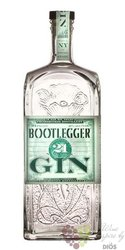 "Bootlegger "" 21 New York "" American London dry gin Prohibition Distillery 47% vol.  0.70 l"