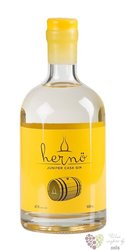 "Herno "" Juniper cask "" Swedish dry gin 47% vol.   0.50 l"