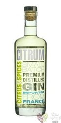 Citrum orient spice French dry gin 40% vol.    0.70 l