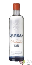 "Damrak "" Amsterdam "" Dutch dry gin 41.8% vol.   0.70 l"