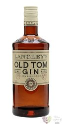 "Langley´s "" Old Tom "" English old style gin 40% vol.  0.70 l"