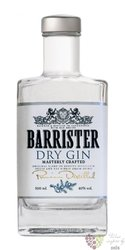 Barrister russian dry gin 40% vol.  0.50 l