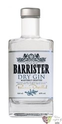 Barrister russian dry gin 40% vol.  0.70 l