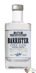 Barrister Russian dry gin 40% vol.  0.05 l