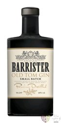 "Barrister "" Old Tom ""  russian dry gin  40% vol.  0.70 l"