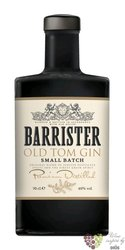 "Barrister "" Old Tom "" Russian dry gin 40% vol.  0.05 l"