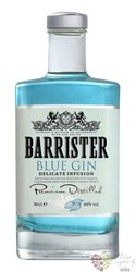 "Barrister "" Blue "" russian dry gin 40% vol.  0.70 l"
