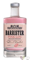 "Barrister "" Pink "" flavored Russian gin 40% vol.  0.70 l"