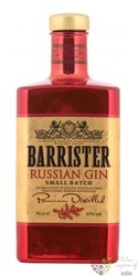 "Barrister "" Russian Small batch "" Russian dry gin 43% vol.  0.70 l"