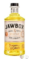 "Jawbox "" Ananas Ginger "" flavoured Irish gin liqueur 20% vol. 0.70 l"