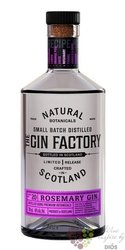 the Factory rosemary Scotch gin 43.8% vol.  0.70 l