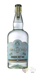Lane 1751 English London dry gin 40% vol. 0.70l