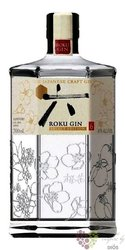 Roku premium Japanese craft gin by Suntory 43% vol.  0.70 l