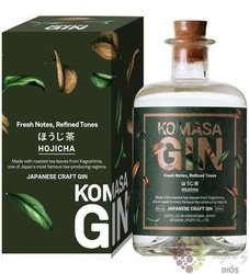 "Komasa "" Hojicha "" Japanese craft gin 40% vol.  0.50 l"