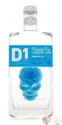 "D1 "" Premium cut "" Daringly dry english gin 40% vol.  0.70 l"