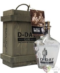 D-Day Belgian dry gin 40.44% vol.  0.70 l