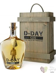 "D-Day "" Gold ed.anniversay 75th "" Belgian dry gin 40.44% vol.  0.70 l"