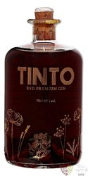 Tinto red premium Portugese gin 40% vol. 0.70 l