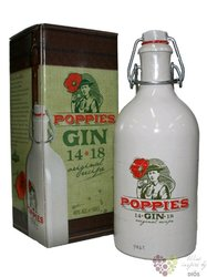 Poppies original recipe Belgium gin by Rubens distillery 40% vol. 0.50 l