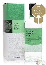 "Nikka "" Coffey "" Japanese gin 47% vol.  0.70 l"