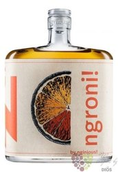 "Nginious "" Ngroni "" unique Swiss blended gin 30% vol.  0.50 l"