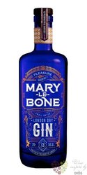 Marylebone English London dry gin by Pleasure Gardens Co. 50.2% vol. 0.70 l