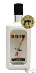 "7 Sins "" Pride "" Belgium artesanal gin 47% vol.  0.50 l"