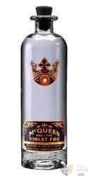 X.X.I. McQueen and the Violet Fog unique Brazilian gin Bumbu rum co. 40% vol.  0.70 l