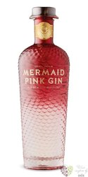 """Mermaid """" Pink """" English gin by Isle of Wight 42% vol.  0.70 l"""