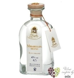 "Mirabellenbrand "" Eau de Vie "" fruits brandy by German distilleria Ziegler 43% vol.    0.70 l"