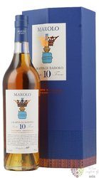 "Grappa di Barolo Invecchiata "" ed. Exclusiva "" aged 10 years distilleria Marolo47% vol.  0.70 l"