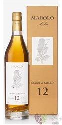 Grappa di Barolo Invecchiata aged 12 years distilleria Marolo 50% vol.  0.70 l