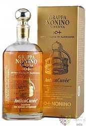 "Grappa riserva "" cuvée Antica "" aged grappa by distilleria Nonino 43% vol.    0.70 l"