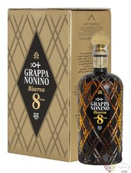 Grappa riserva 8 years in barriques Friuli distilleria Nonino 43% vol.   0.70 l