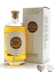 """Grappa di Chardonnay barrique """" I vigneti Monovitigno """" Friuli by distilleria Nonino 41% vol. 0.35 l"""