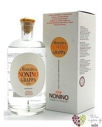 """Grappa di Moscato """" I vigneti monovitigno """" Friuli distilleria Nonino 41% vol.0.35 l"""