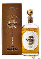 """Grappa di Prosecco barrique """" I vigneti monovitigno """" Friuli by distilleria Nonino 41% vol.  0.70 l"""