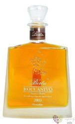 "Grappa di Barbera riserva 2003 "" Roccanivo "" papper box distillerie Berta 44% vol.   0.70 l"