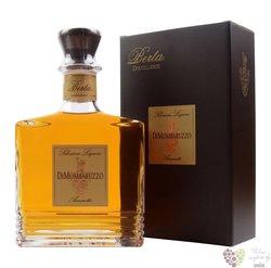 """Amaretto """" Di Monbaruzzo """" Italian almond liqueur by distillerie Berta 28% vol.0.70 l"""