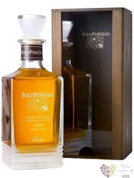 "Grappa di Barberra&Moscato riserva 2008 "" SoloPerGian "" wood box distillerie Berta 43% vol.  0.7"