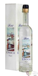 """Grappa di Barberra & Pinot nero """" Unica """" collezione Primavene distillerie Berta 43% vol.  0.70"""