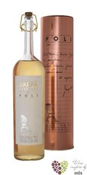 "Grappa "" Sarpa di Poli barrique "" original aged Italian brandy by Jacopo Poli 40% vol.   0.70 l"