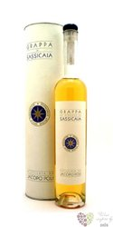 Grappa di Sassicaia aged 4 years Jacopo Poli 40% vol.    0.50 l