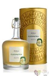 """Cleopatra """" Prosecco Oro """" grappa Jacopo Poli 40%vol.     0.70 l"""