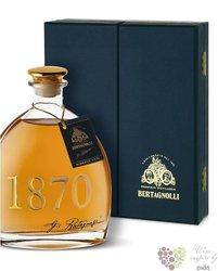 """Grappa riseva """" 1870 """" distilleria G.Bertagnolli 40% vol.    0.70 l"""